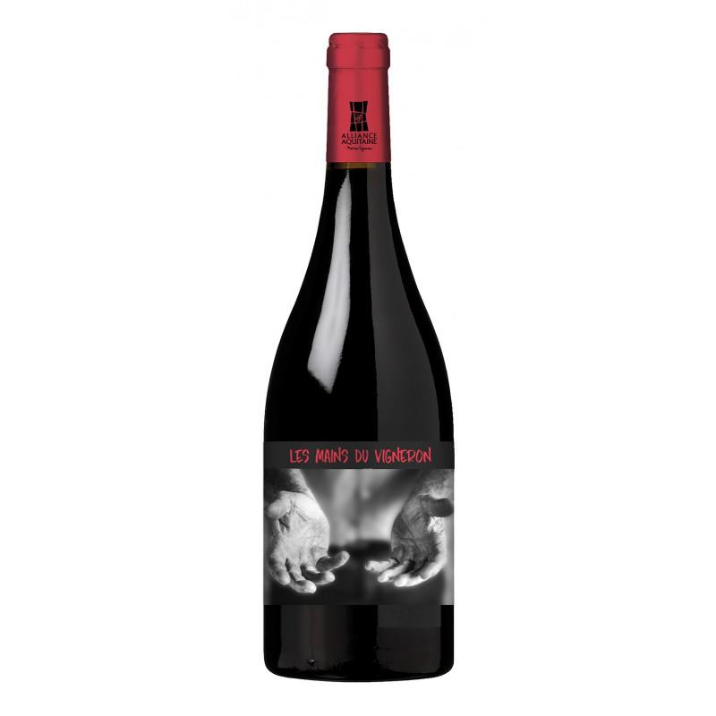 Les Mains du Vigneron -Côtes de Bergerac 2018-Elevé en barrique