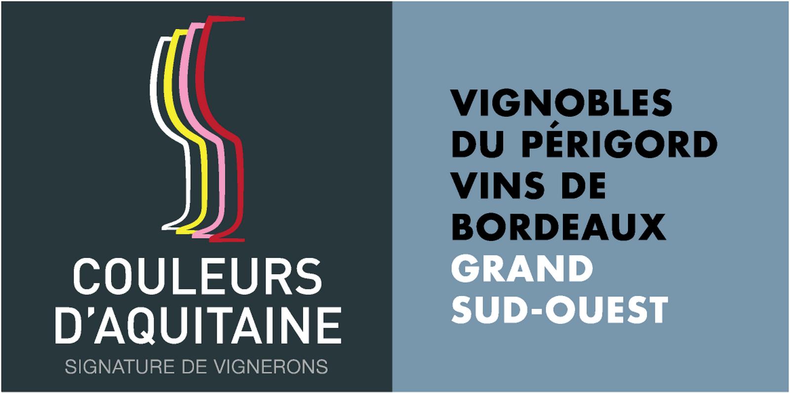Logo Couleurs d'Aquitaine